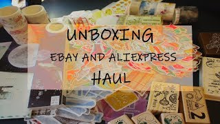 UNBOXING EBAY AND ALIEXPRESS HAUL #2 II it's a lot..