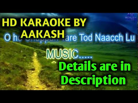 Dil Haara Re ( Tashan ) HD KARAOKE BY AAKASH