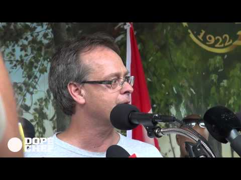 Marc Emery welcome back Press Conference FULL
