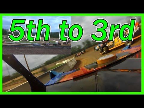 Clinton County Motor Speedway Heat Race 5/12 [IN CAR]