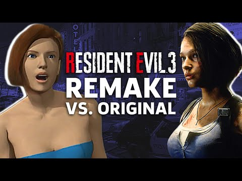 Resident Evil 3 Remake Vs. Original Gameplay Comparison