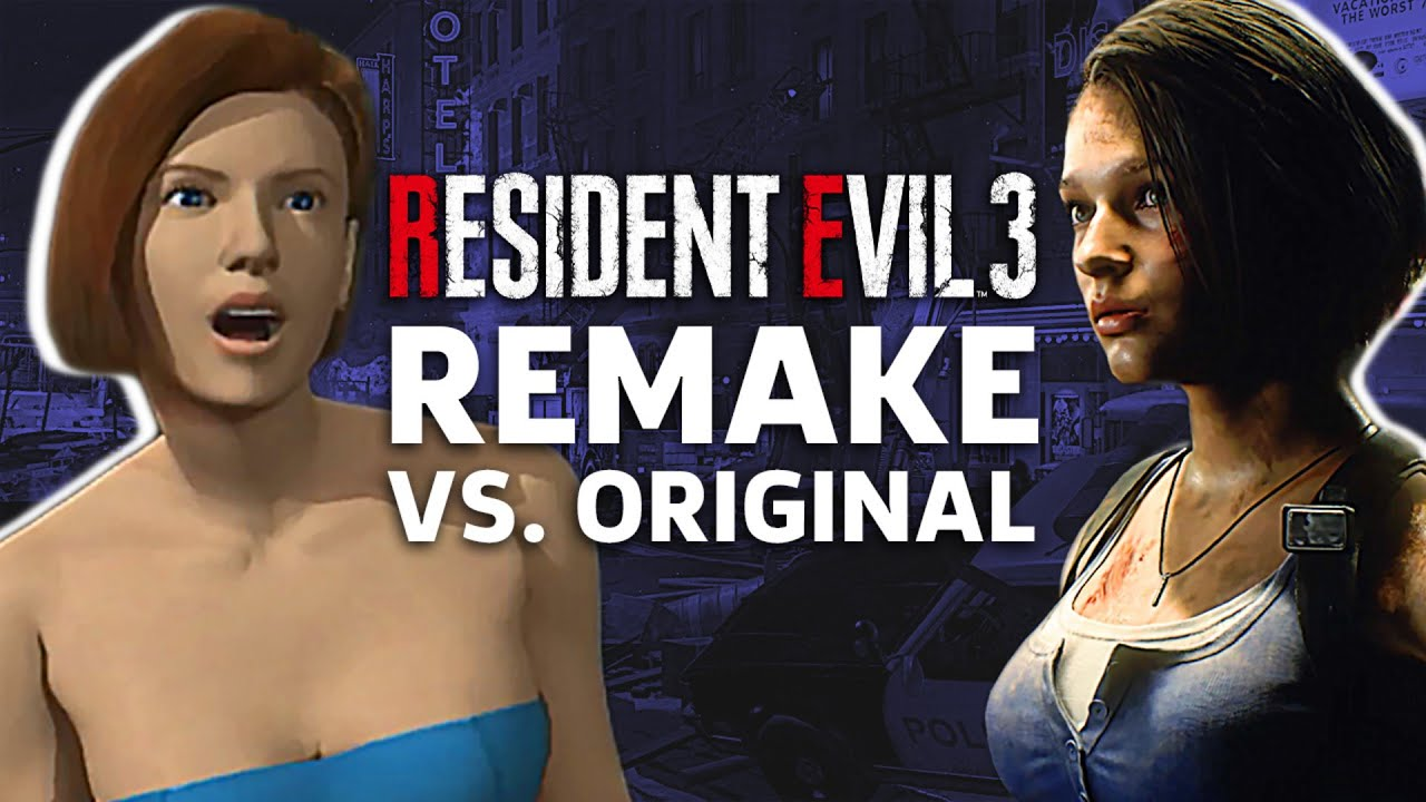 Resident Evil 3 Remake Vs Original Gameplay Comparison Youtube