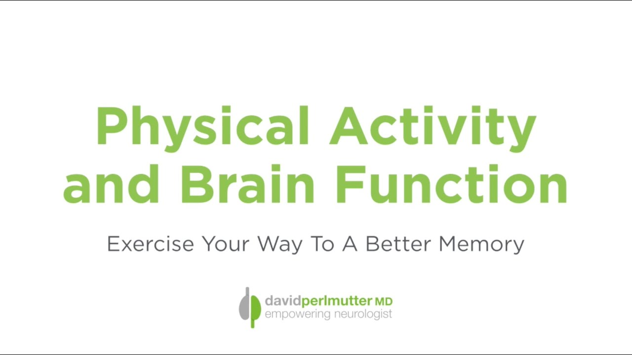 Physical Activity And Brain Function