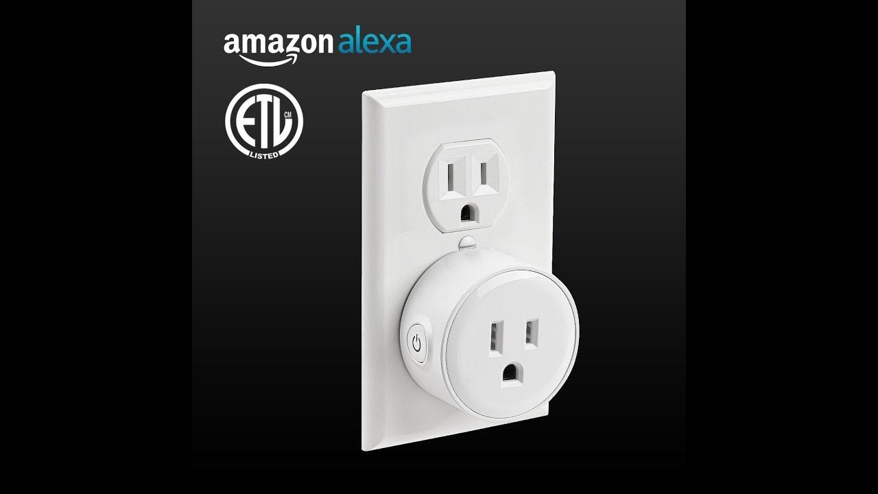 WiFi Power Socket Smart Plug -Alexa Integration