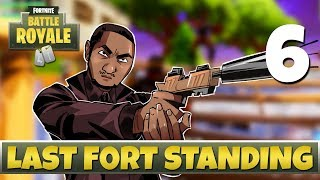 [6] Last Fort Standing (Let's Play Fortnite: Battle Royale w/ GaLm and friends)