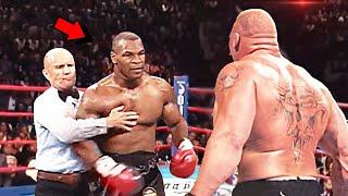 Это Невозможно Забыть Как Майк Тайсон Сорвался на Ринге