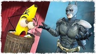 BATMAN vs БАНАН В МУСОРКЕ = ВЫЖИВАНИЕ В CS:GO!!!
