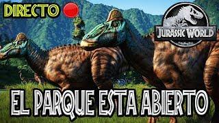 EL PARQUE ESTÁ ABIERTO | JURASSIC WORLD: EVOLUTION