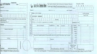andhra bank deposit form  bank - YouTube