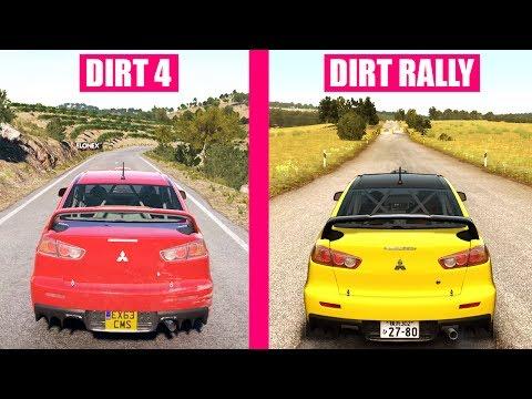 DiRT 4 vs DiRT Rally : Cars Sound Comparison