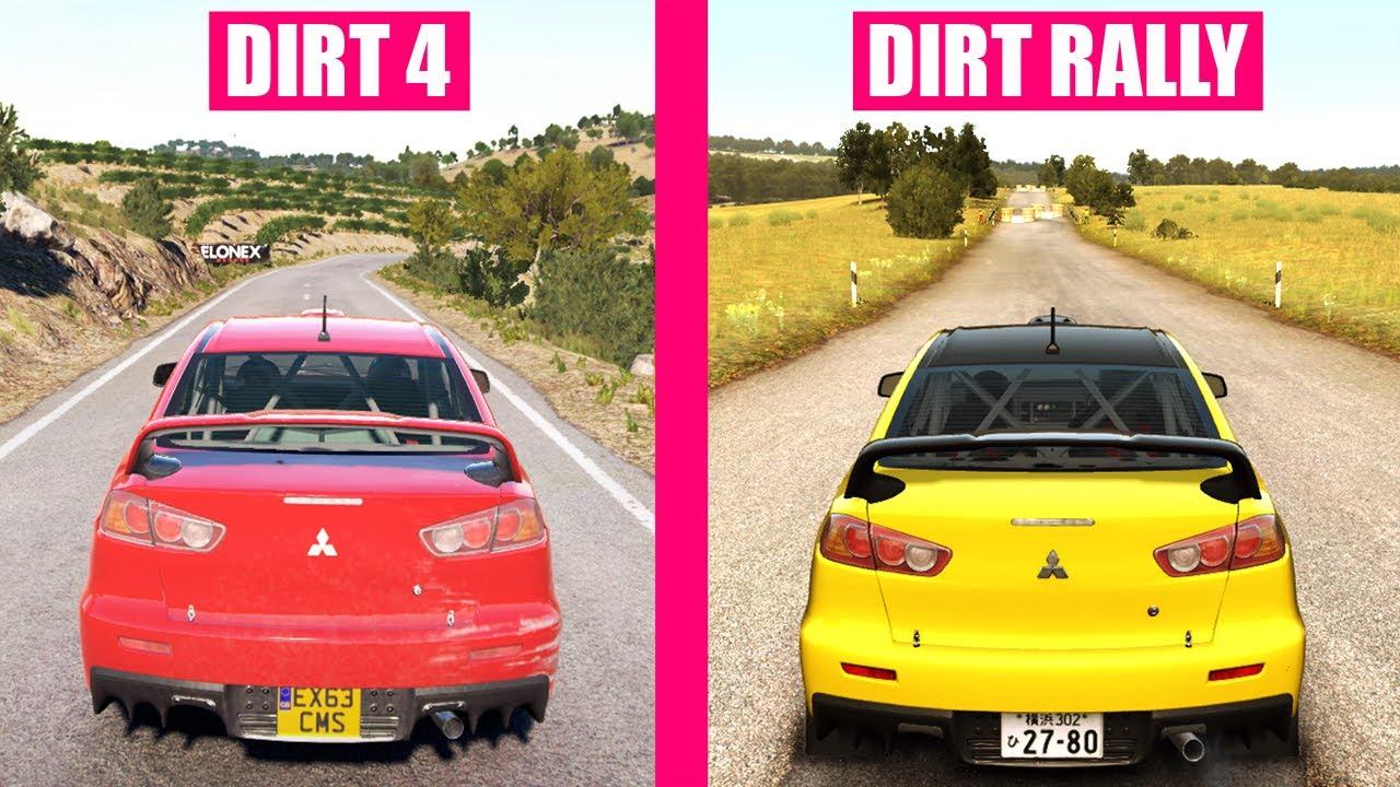 dirt 4 vs dirt rally cars sound comparison youtube. Black Bedroom Furniture Sets. Home Design Ideas