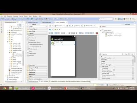 android lesson about listview and combobox in khmer