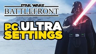 Star Wars Battlefront Beta - PC Ultra Settings Gameplay