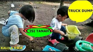Download Video bermain mobil mobilan truck diisi tanah MP3 3GP MP4