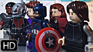 Captain America: Civil War Super Bowl TV Spot #1 IN LEGO