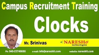 Clocks Problems Shortcuts and Tricks | CRT Training