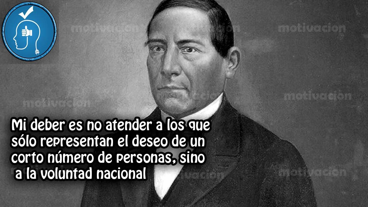 Frases Sábias: 10 Frases Celebres De Benito Juárez