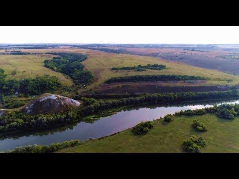 Лиски п. Калач - о.п.154 км - Меловые горы - Дон - о.п.152 км - п. Калач (13 км) (кэш FPV 720p)