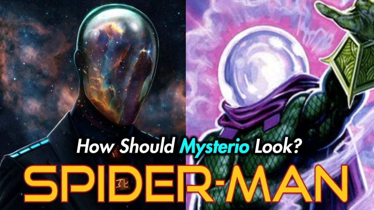 how should mysterio look in 'spider-man: far from home'? (what