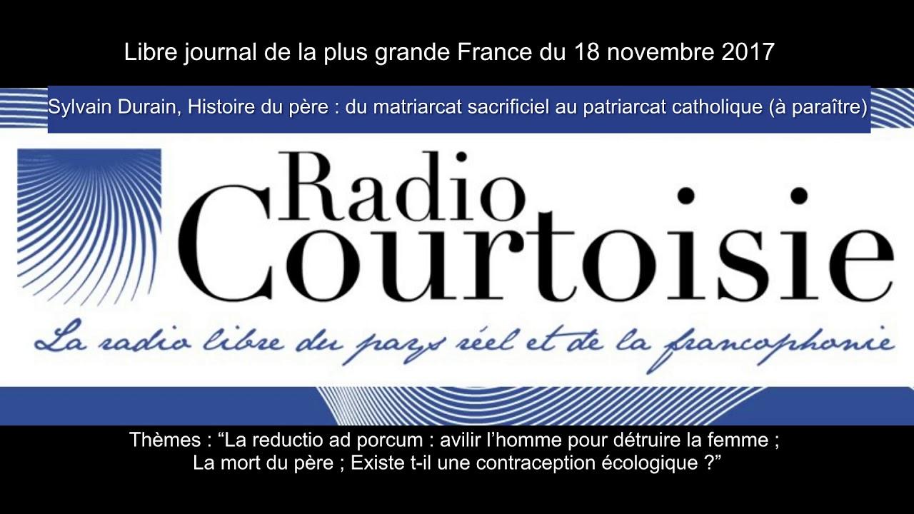 Sylvain Durain sur Radio Courtoisie