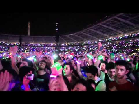 CONCERT COLDPLAY 24 MAY TURIN ITALY