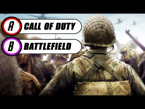 10 Questions To Decide if You Like CALL OF DUTY or BATTLEFIELD More (CHOOSE A SIDE)