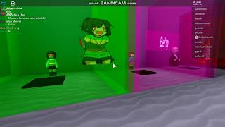 Glitch Roblox Undertale Au Monster Survive Fight