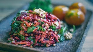 High Protein Vegan Red Lentil Salad - Delicious & Easy Recipe