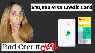$10,000 Visa Credit Card With No Hard Pull PreApproval! Bad Credit OK!