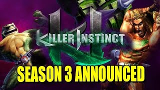 KILLER INSTINCT: Season 3 Revealed & Battletoad Rash Gameplay