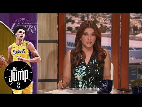 The message LeBron James said to Lonzo Ball   The Jump   ESPN
