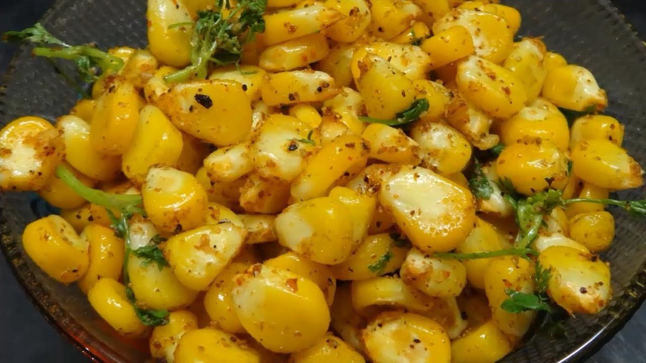 Masala sweet corn preparation in telugu youtube ccuart Choice Image
