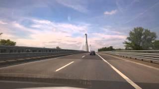 Podul peste Tisa, in apropiere de Szeged, Ungaria