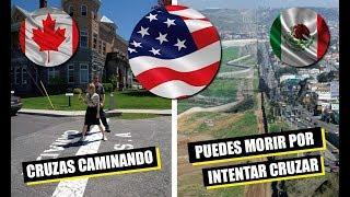 7 increíbles diferencias entre las 2 fronteras de estad0s unld0s