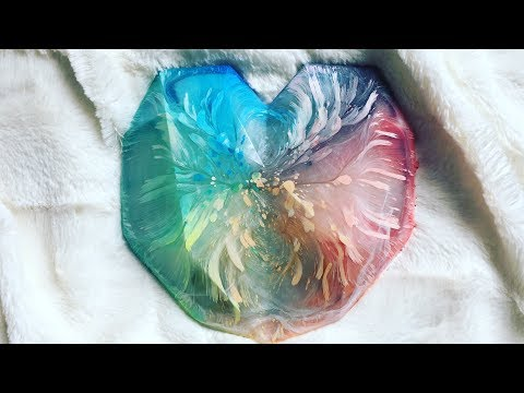 Heart of Colour - 3D Petri Resin Heart - 6 Steps Process