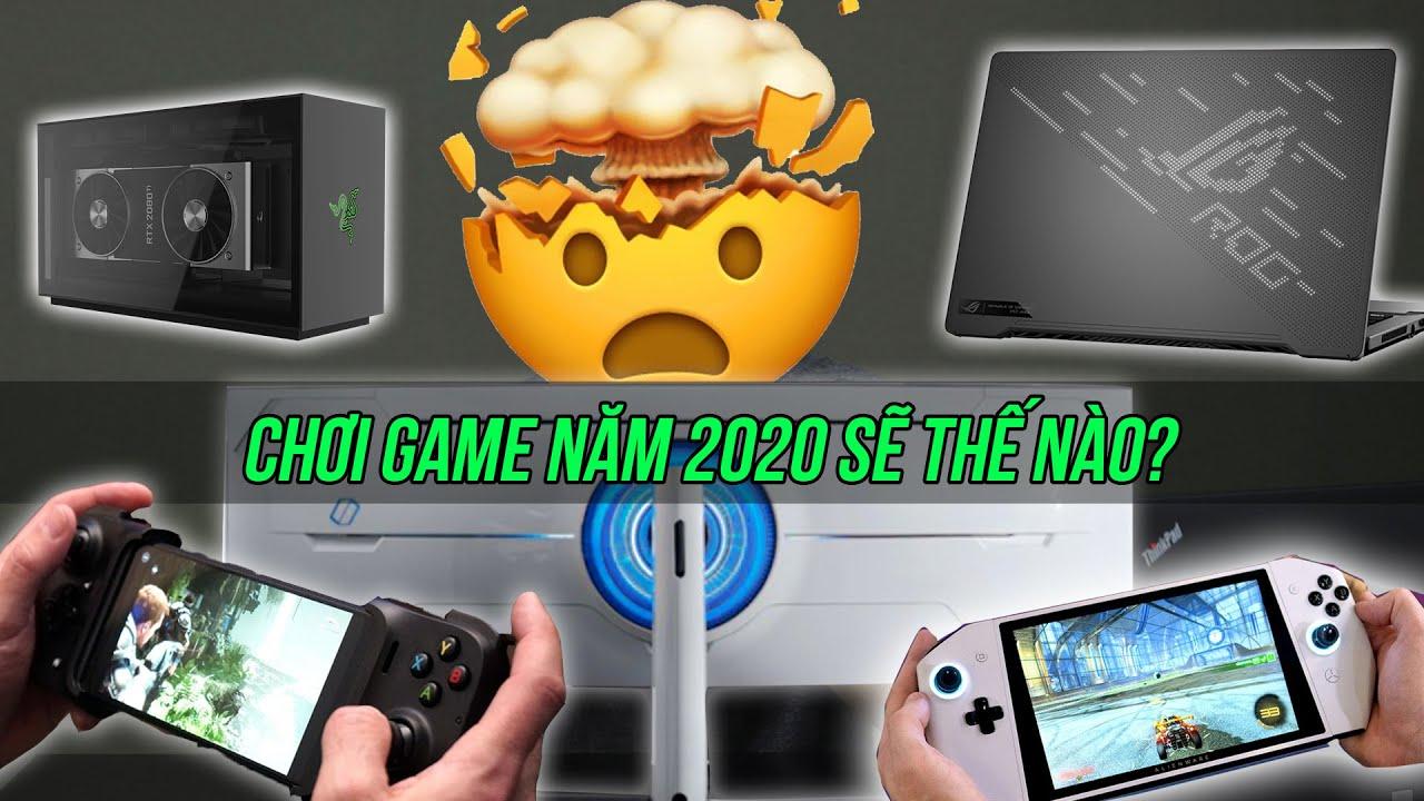 10 thiết bị chơi game CỰC ĐỈNH tại CES 2020 khiến bạn thèm nhỏ dãi!