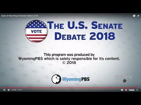 Wyoming US Senate Debate - 2018