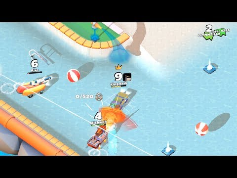 Crash of Cars Tips and Tricks on Water Park for High scores
