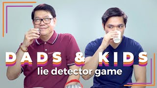 Dads & Kids with a Lie Detector | Filipino | Rec•Create