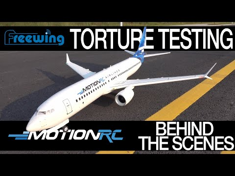 Torture Testing the Freewing AL37 - Behind the Scenes - Motion RC from YouTube · Duration:  9 minutes 39 seconds
