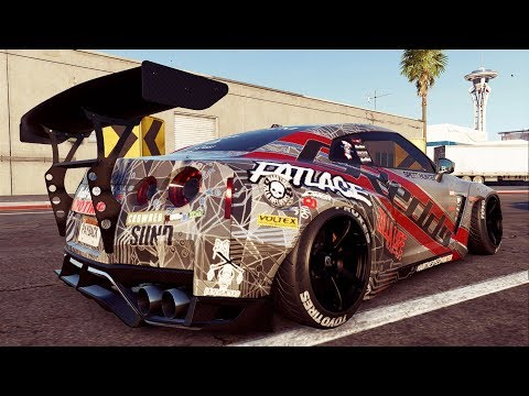 Need For Speed Payback | NISSAN GT-R DRIFT BUILD