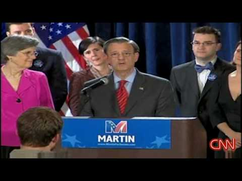 Jim Martin formally concedes Senate race