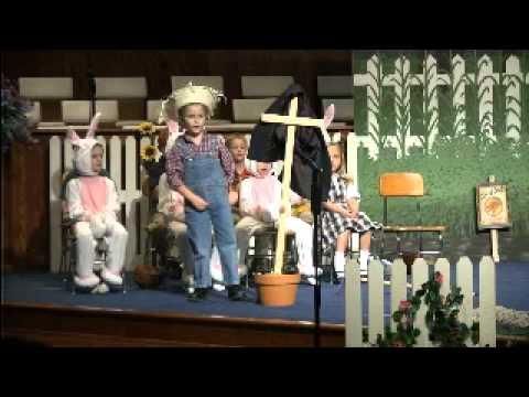 Burge Terrace Christian School K-5 Graduation - Peter Rabbit