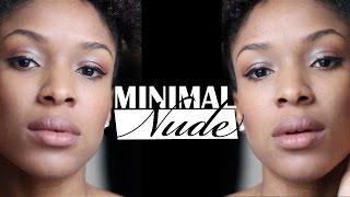 Minimal NUDE // Routine maquillage naturel pour tous les jours