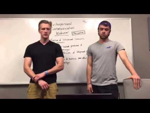 Interpersonal communication- perception