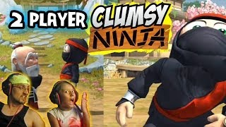 We Play: CLUMSY NINJA (Father Daughter iOS Face Cam Gameplay)