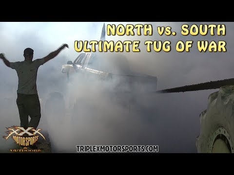 NORTH vs. SOUTH TUGS GO OUT OF CONTROL!!