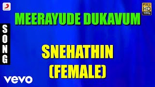 Snehathin Female Malayalam Song | Prithviraj, Ambili Devi, Renuka Menon