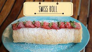 Swiss Roll | Easy To Make Dessert Recipe | Beat Batter Bake With Priyanka