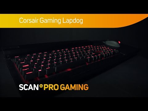 Corsair Lapdog Living Room PC Gaming Keyboard Mouse Dock Image 4 Click Tozoom